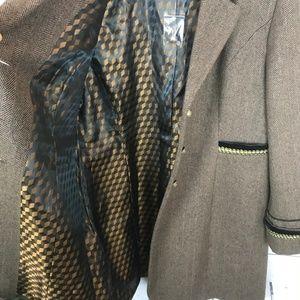 Soft Surroundings Jackets & Coats - NWOT Soft Surroundings Brown Herringbone Jacket